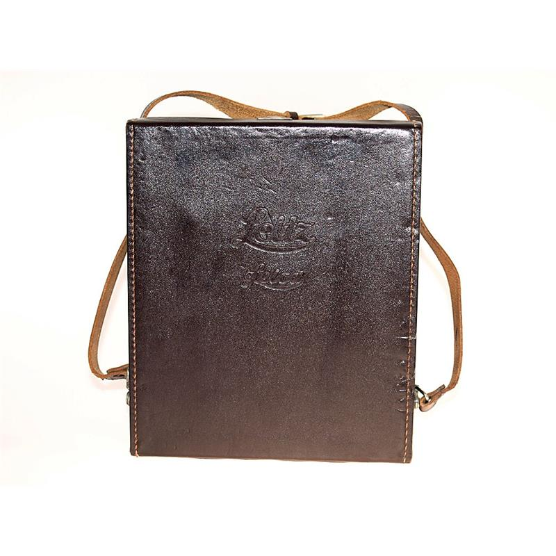 Leica Brown Leather Shoulder Bag Thumbnail Image 0
