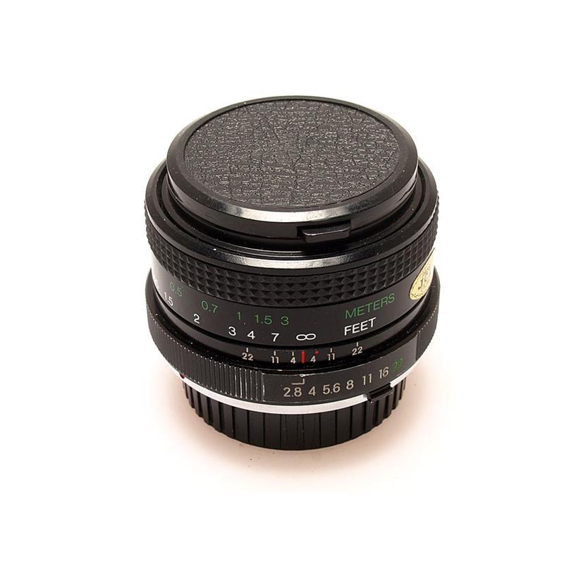 Vivitar 28mm F2.8 MC - Minolta Manual Thumbnail Image 0