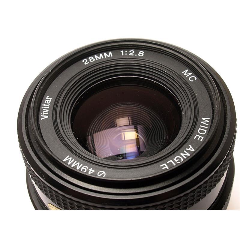 Vivitar 28mm F2.8 MC - Minolta Manual Thumbnail Image 1
