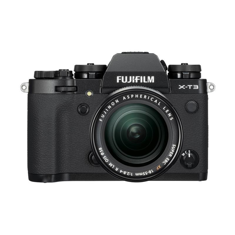 Fujifilm X-T3 + 18-55mm lens - Black - Double Cashback Thumbnail Image 0