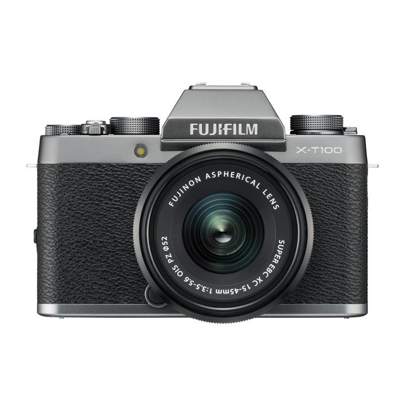 Fujifilm X-T100 + 15-45mm XC - Dark Silver Thumbnail Image 0