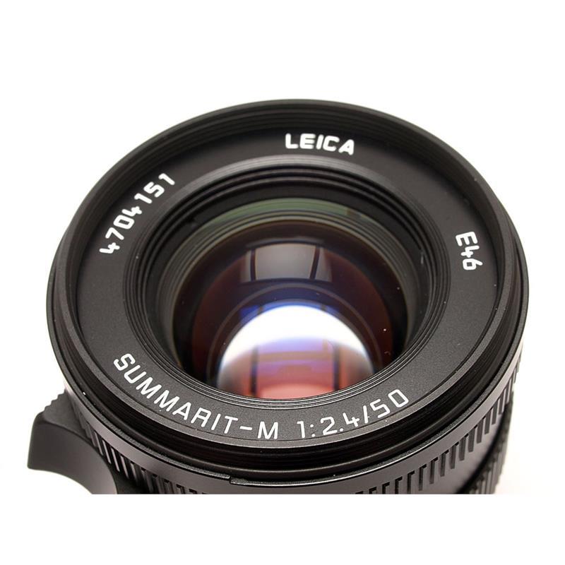 Leica 50mm F2.4 M Black 6bit Thumbnail Image 1