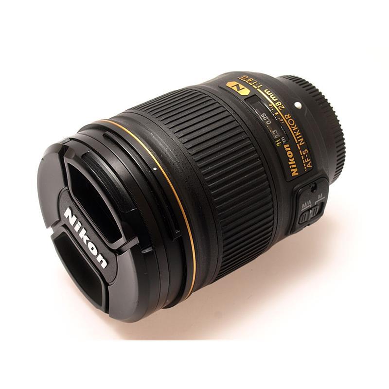 Nikon 28mm F1.8 G AFS Thumbnail Image 0