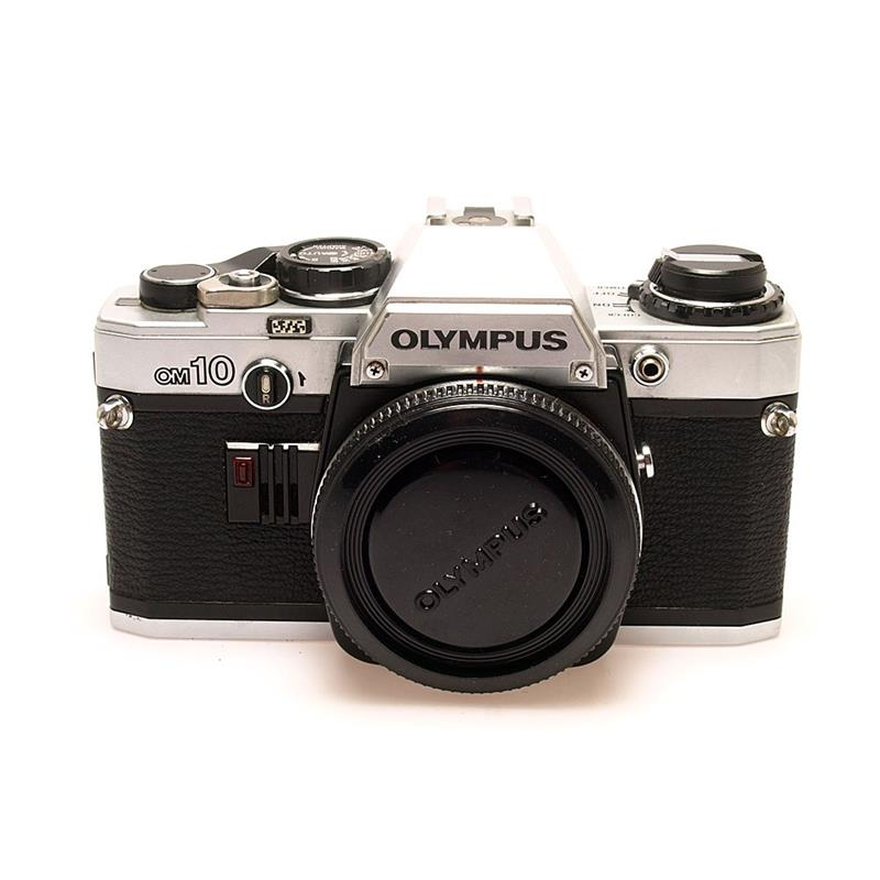 Olympus OM10 Body Only - Chrome Thumbnail Image 0