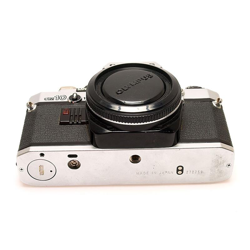 Olympus OM10 Body Only - Chrome Thumbnail Image 2