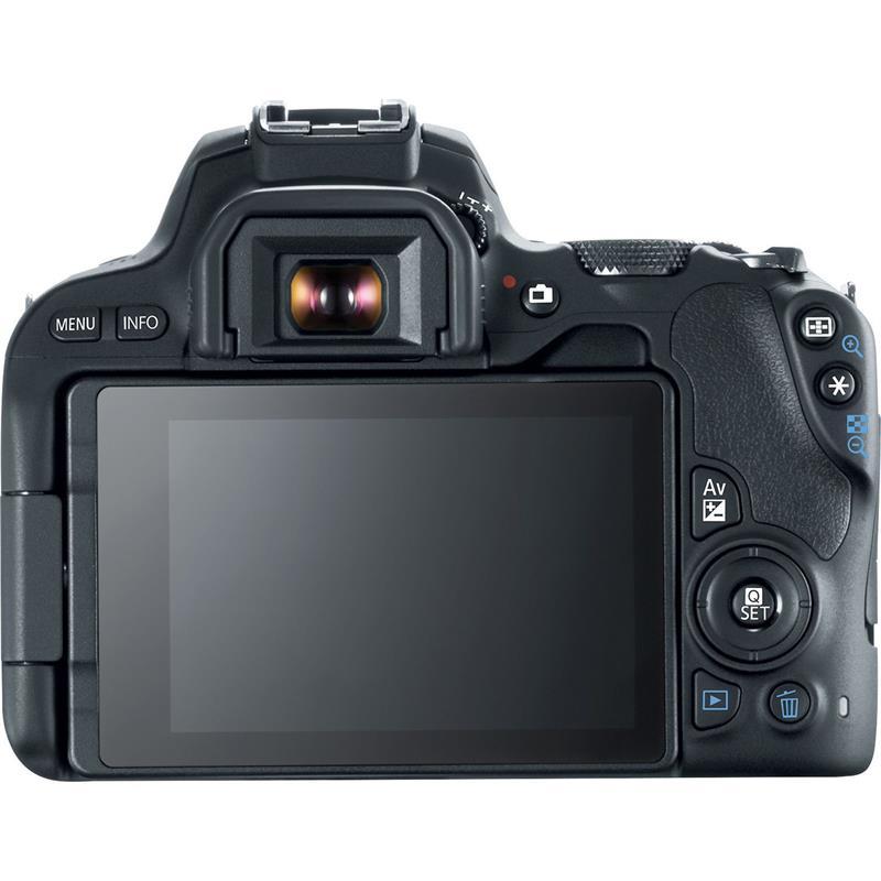 Canon EOS 200D + 18-55mm IS STM - Black Thumbnail Image 1