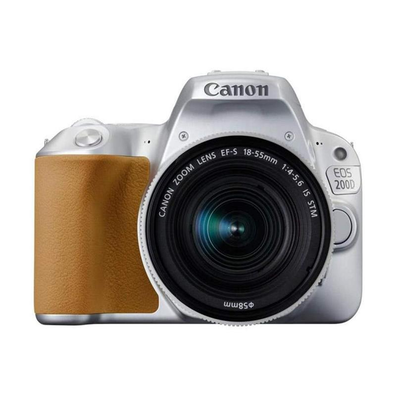Canon EOS 200D + 18-55mm IS STM - Silver Thumbnail Image 0