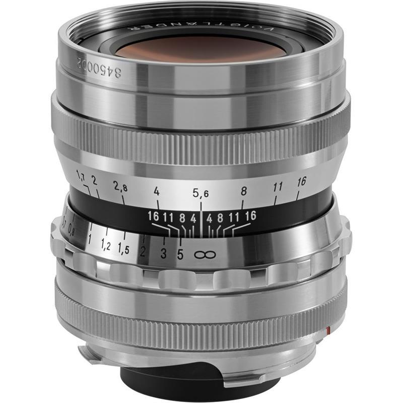 Voigtlander 35mm F1.7 VM Asph Ultron - Silver Image 1