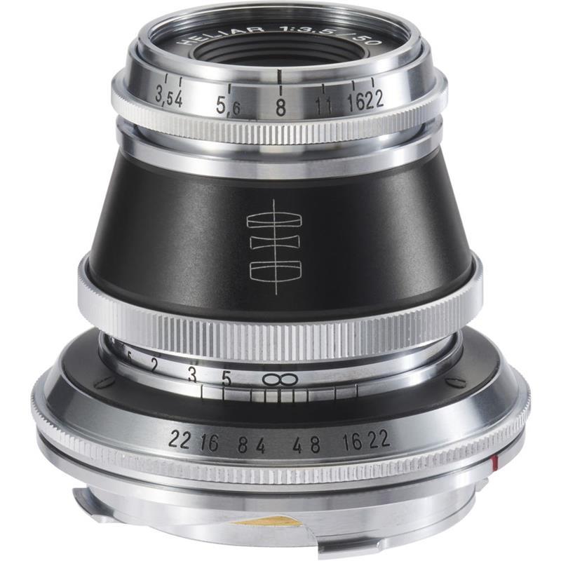 Voigtlander 50mm F3.5 VM Heliar Image 1