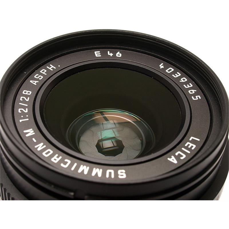 Leica 28mm F2 Asph M Black 6bit Thumbnail Image 1