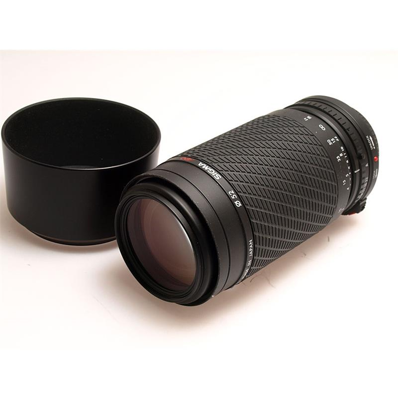 Sigma 70-210mm F3.5-4.5 Apo Thumbnail Image 0
