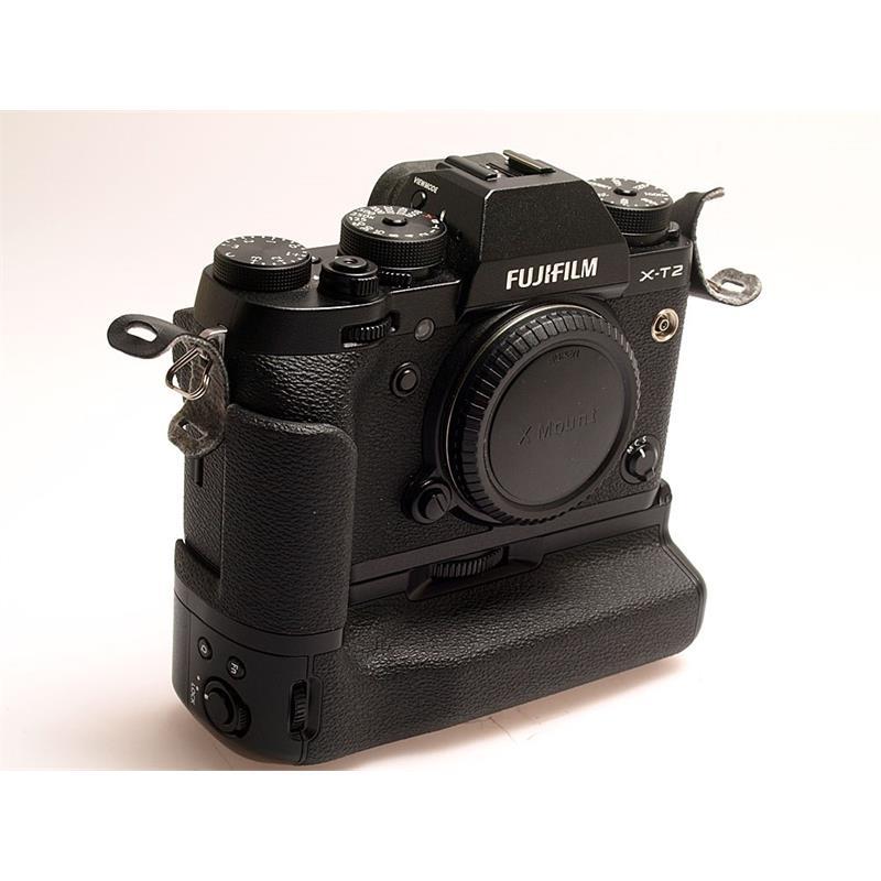 Fujifilm X-T2 Body + VPB-XT2 - Black Thumbnail Image 0