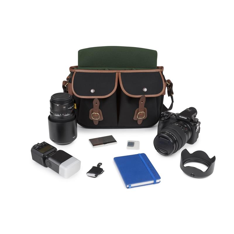 Billingham Hadley Pro 2020 - Black Canvas / Tan Leather Thumbnail Image 1