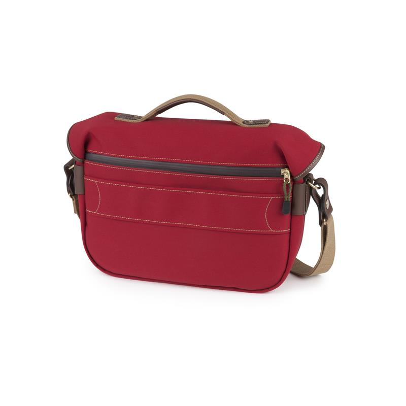 Billingham Hadley Pro 2020 - Burgundy Canvas / Chocolate Leather Thumbnail Image 2