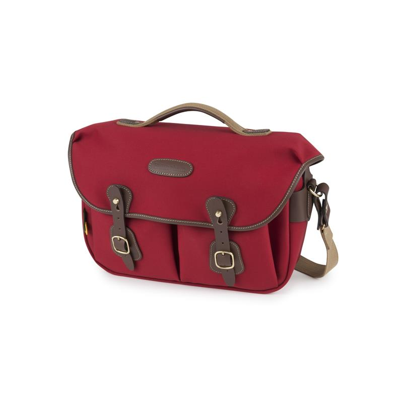 Billingham Hadley Pro 2020 - Burgundy Canvas / Chocolate Leather Thumbnail Image 0