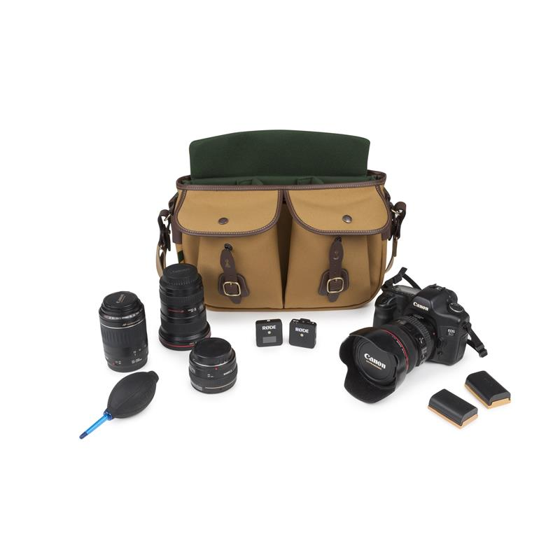 Billingham Hadley Pro 2020 - Khaki FibreNyte / Chocolate Leather Thumbnail Image 1