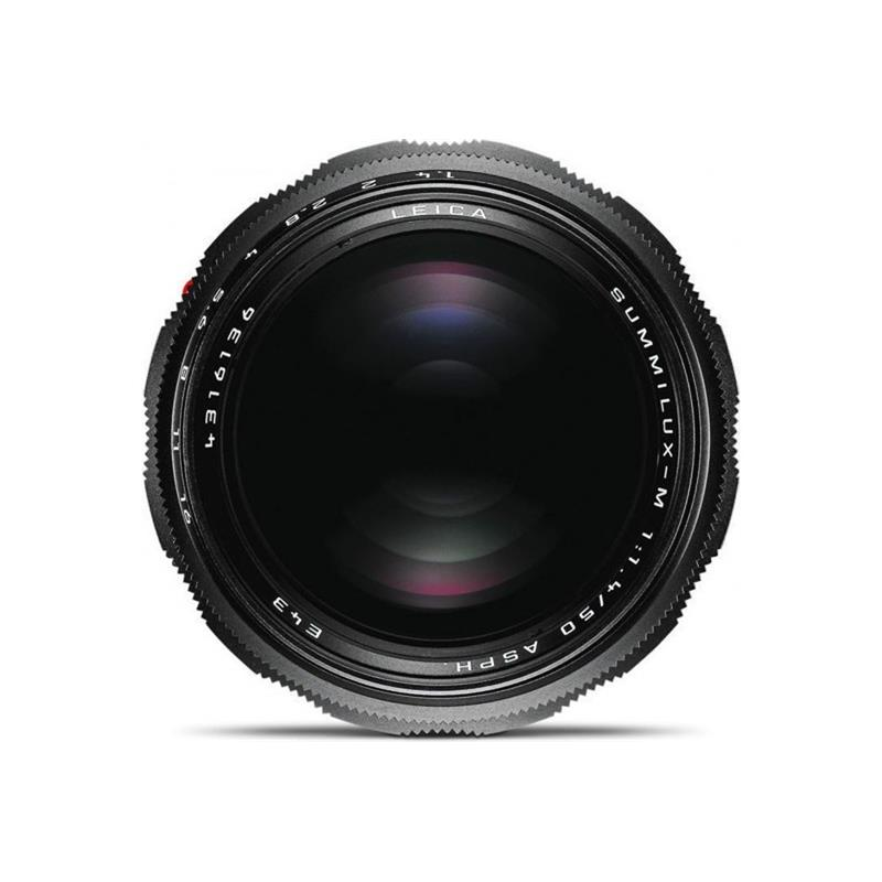 Leica 50mm F1.4 Summilux Asph M - Black Chrome Thumbnail Image 1