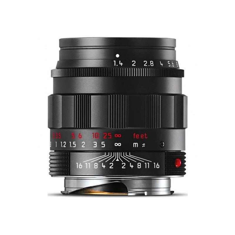 Leica 50mm F1.4 Summilux Asph M - Black Chrome Thumbnail Image 0