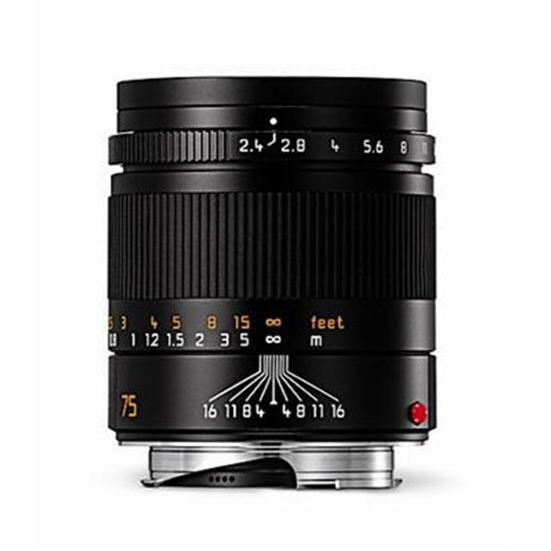 Leica 75mm F2.4 M Black 6bit Image 1