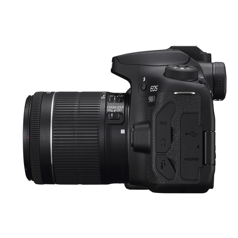 Canon EOS 90D + 18-55mm EF-S Thumbnail Image 2