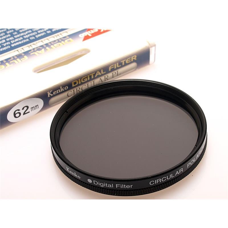 Kenko 62mm Circular Polariser Digital Image 1