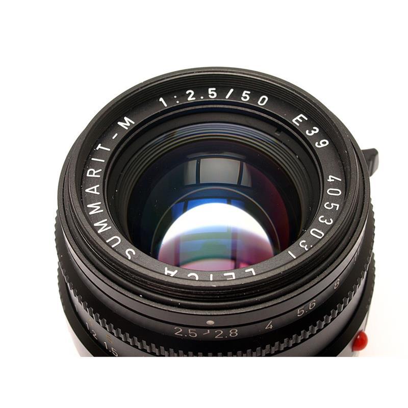 Leica 50mm F2.5 M Black 6bit Thumbnail Image 1