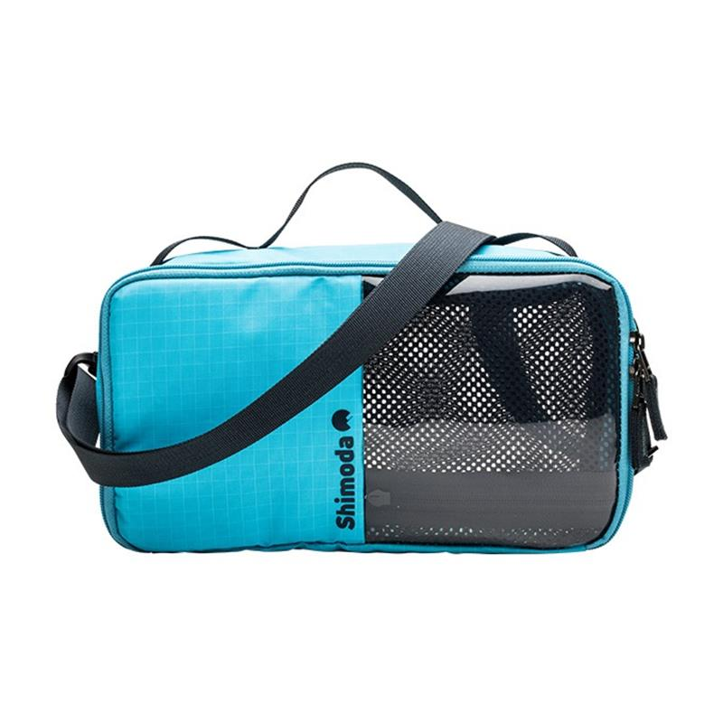 Shimoda Accessory Case Large - River Blue Thumbnail Image 0