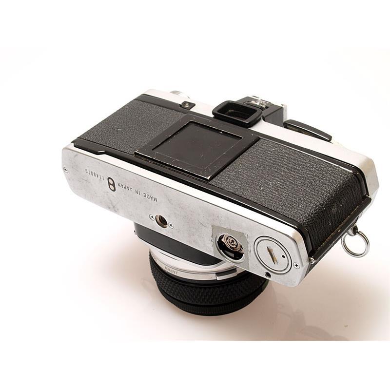 Olympus OM2N Chrome + 50mm F1.8 + T20 flash Thumbnail Image 2