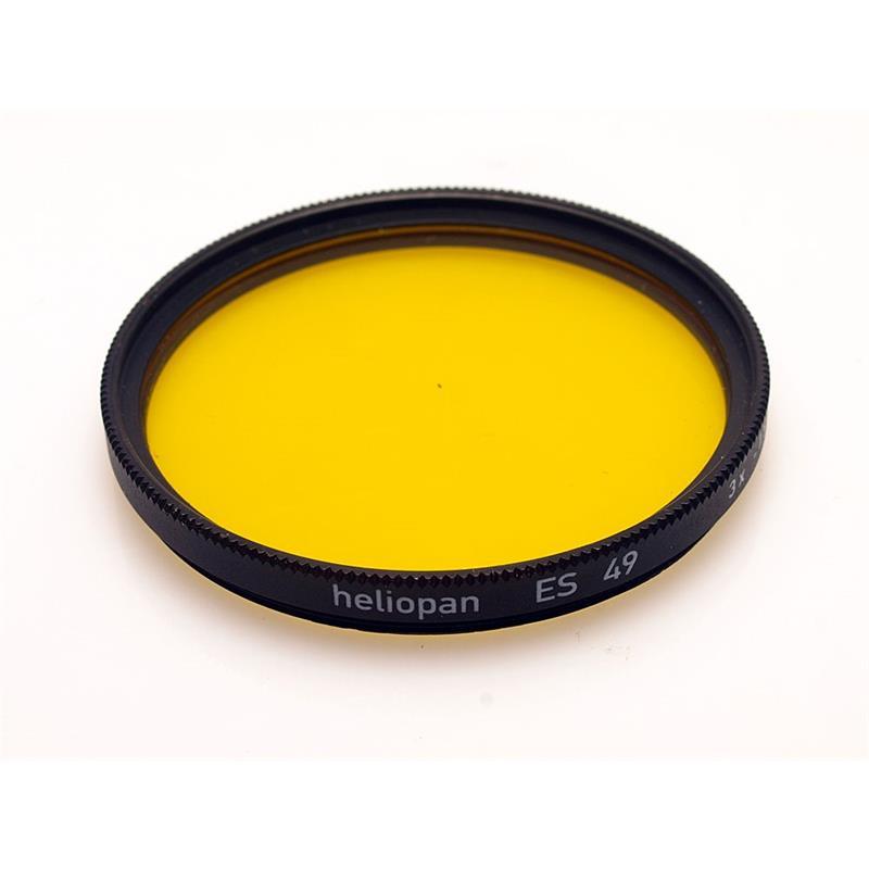 Heliopan 49mm Yellow Image 1