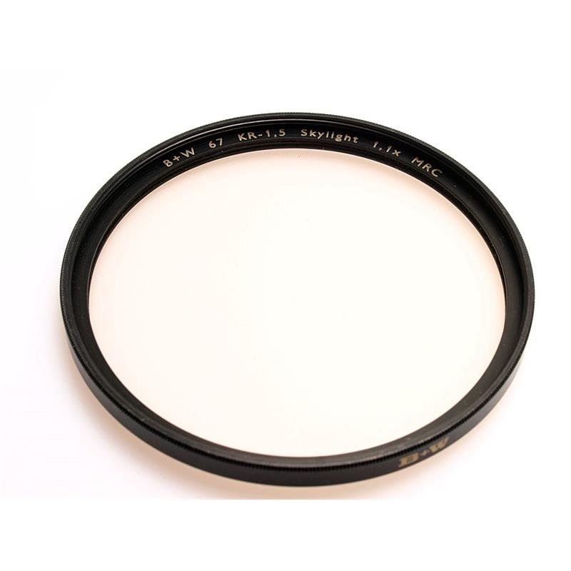 B+W 67mm KR1.5 Skylight - Multi Coated Image 1