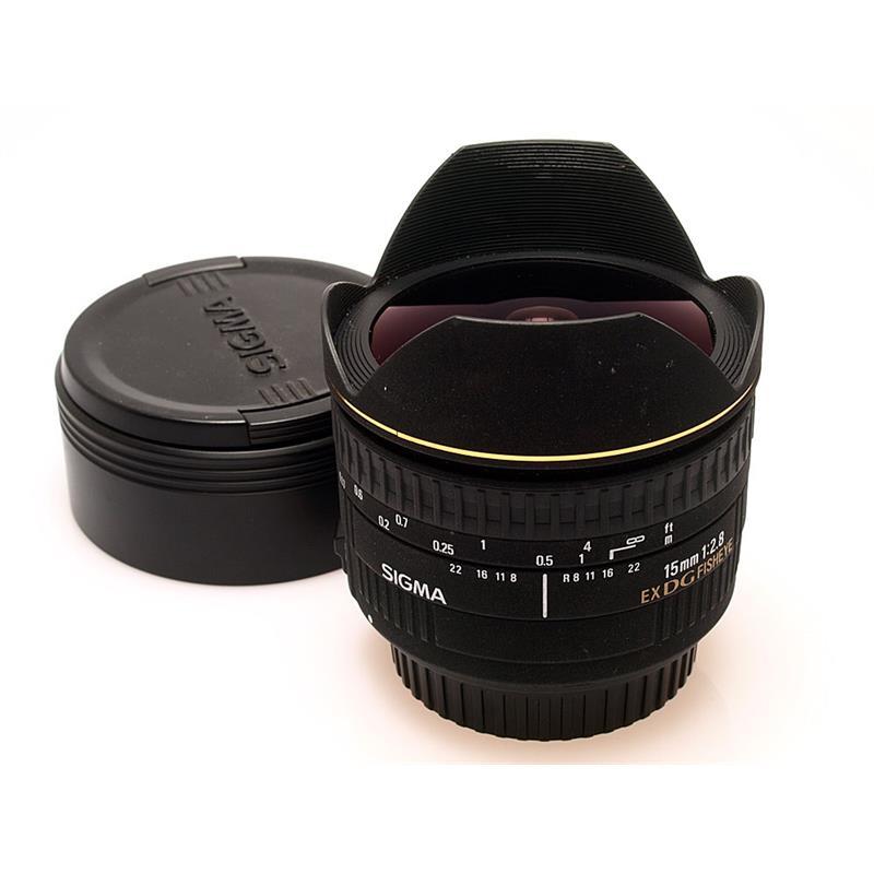 Sigma 15mm F2.8 EX DG Fisheye - Canon EOS Thumbnail Image 0