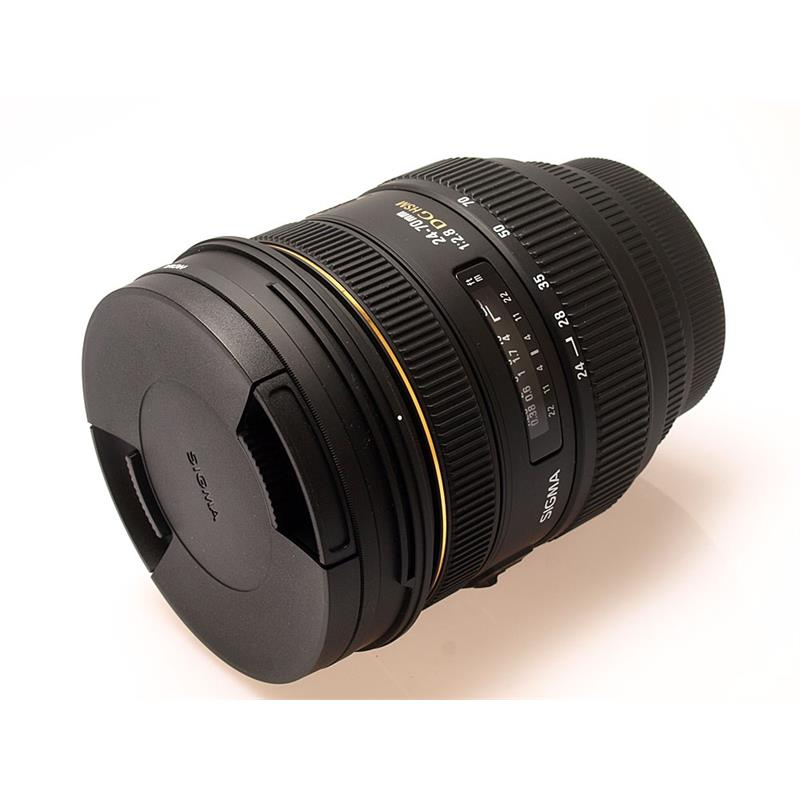 Sigma 24-70mm F2.8 IF EX DG HSM - Canon EOS Thumbnail Image 0