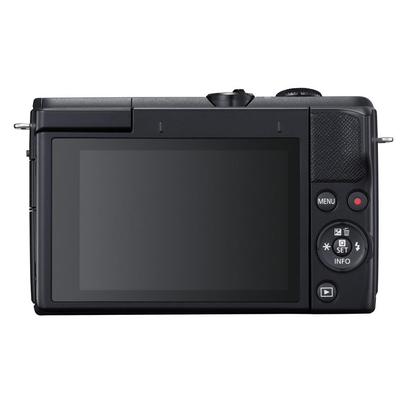 Canon EOS M200 + 15-45mm - Black Thumbnail Image 1