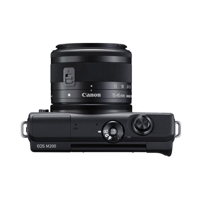 Canon EOS M200 + 15-45mm - Black Thumbnail Image 2