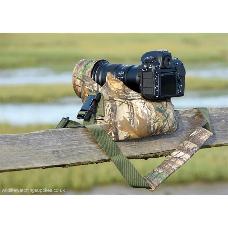 Wildlife Watching Supplies Standard Double Bean Bag - Realtree Xtra Thumbnail Image 2