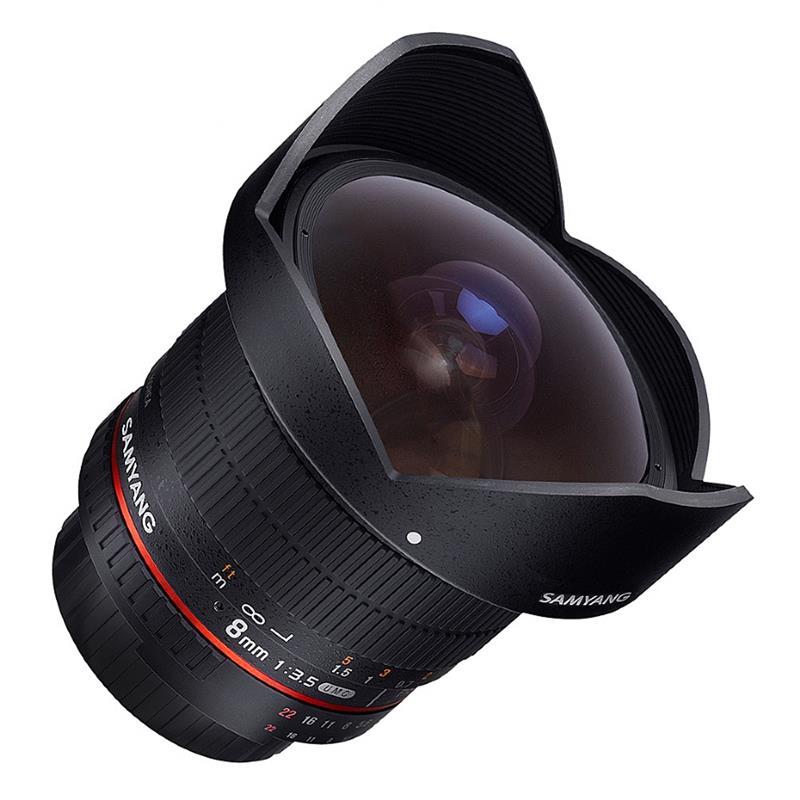 Samyang 8mm F3.5 IF UMC CS II Fisheye - Canon EOS Image 1