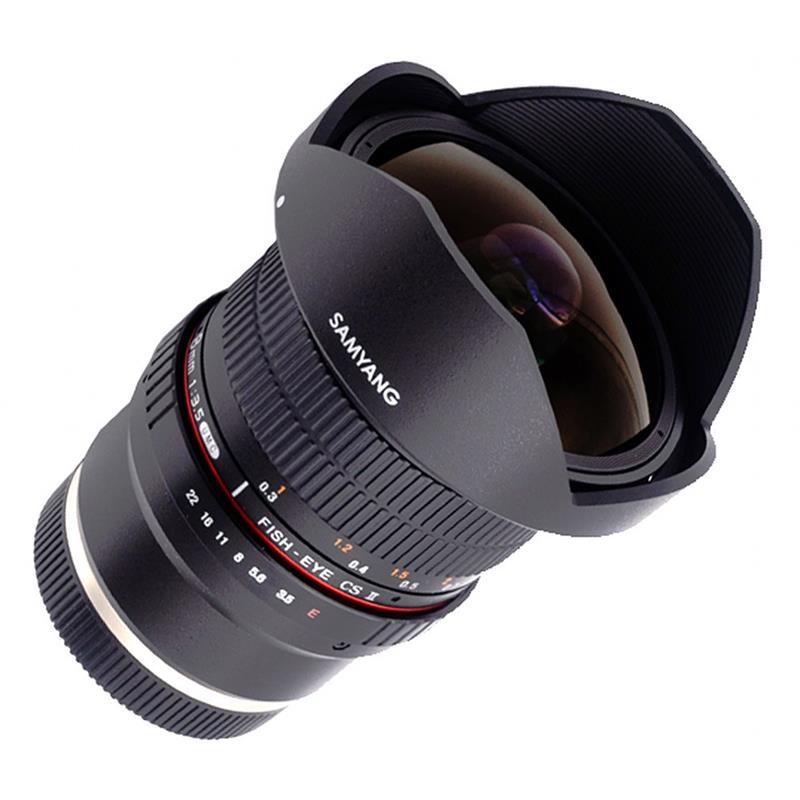 Samyang 8mm F3.5 IF UMC CS II Fisheye - Sony E Image 1