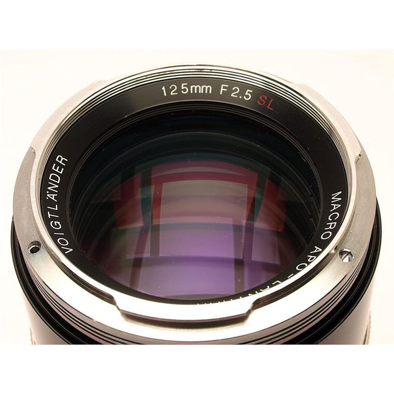 Voigtlander 125mm F2.5 SL Apo Macro Thumbnail Image 1