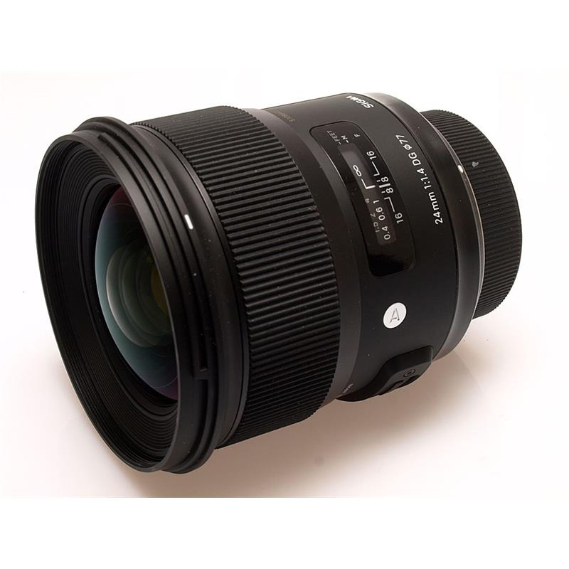 Sigma 24mm F1.4 DG HSM A - Nikon AF Thumbnail Image 0