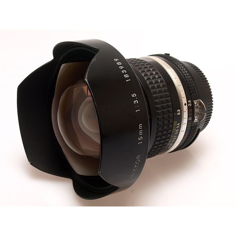 Nikon 15mm F3.5 AIS Thumbnail Image 0