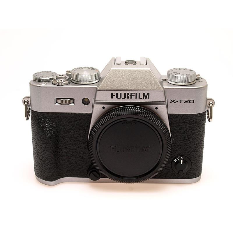 Fujifilm X-T20 Body Only - Silver Thumbnail Image 0