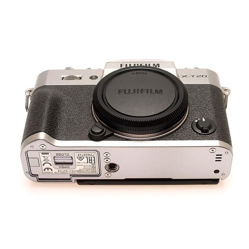 Fujifilm X-T20 Body Only - Silver Thumbnail Image 2