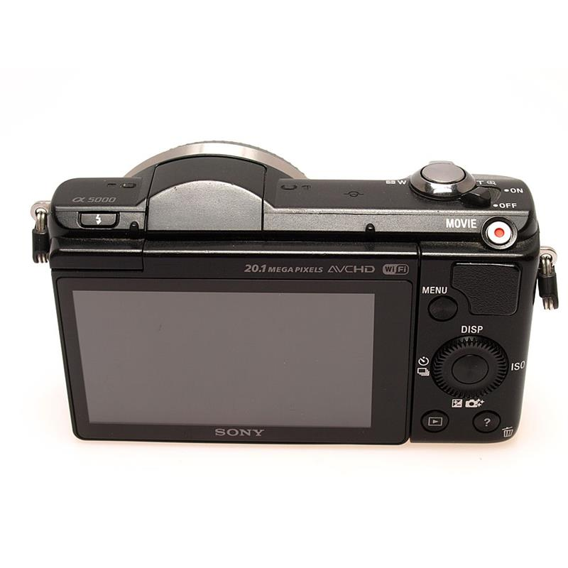 Sony Alpha 5000 Body Only Thumbnail Image 1