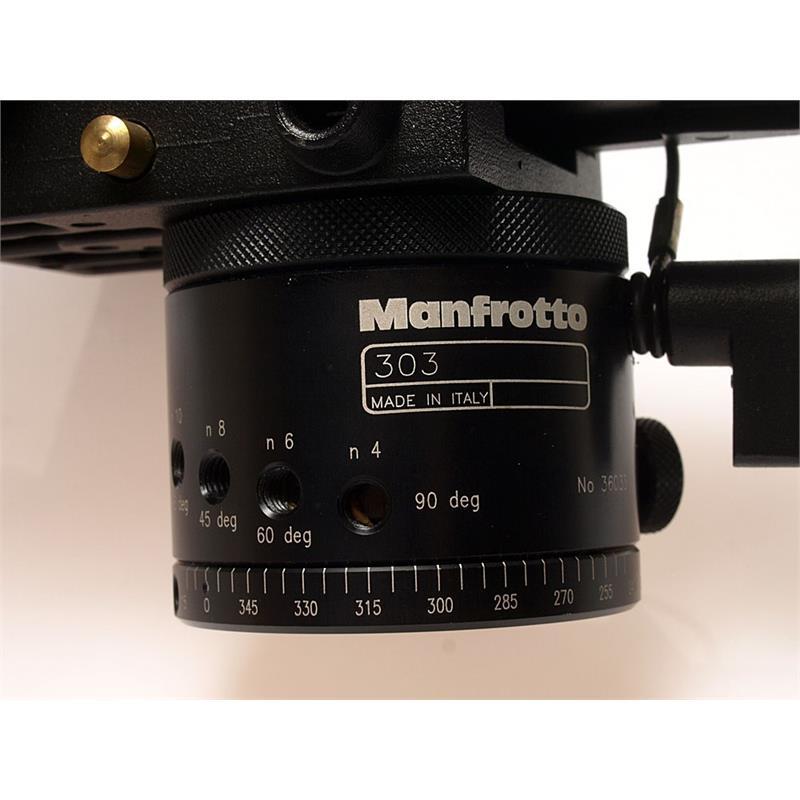 Manfrotto MN-303 Virtual Reality & Panoramic Head Thumbnail Image 1