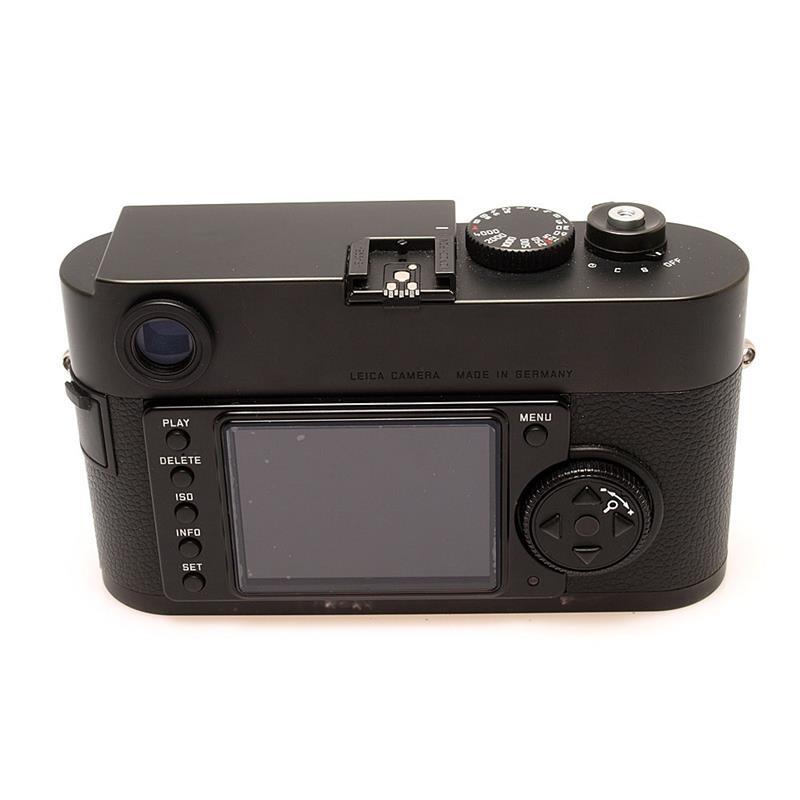 Leica M Monochrom Black Body Only Thumbnail Image 1