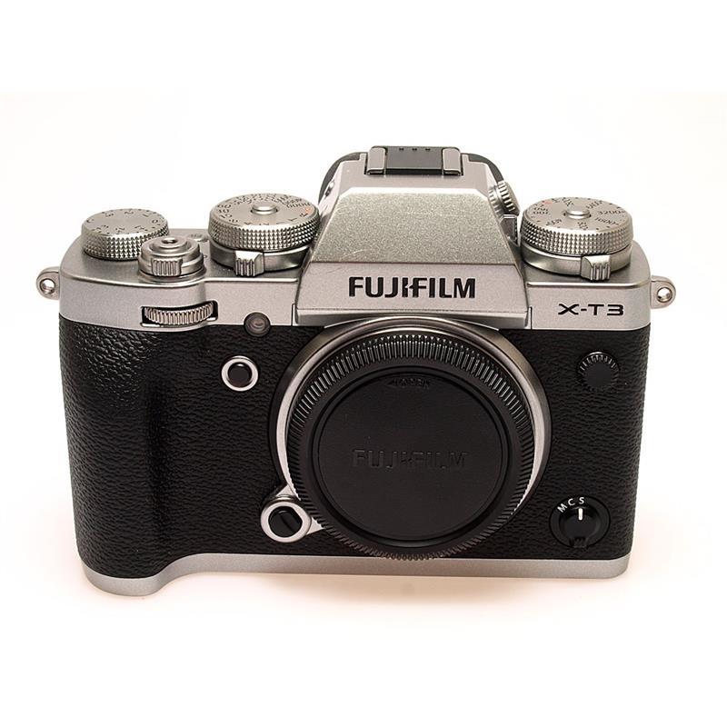 Fujifilm X-T3 Body Only - Silver Thumbnail Image 0