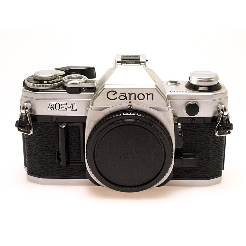 Canon AE1 Chrome Body Only Thumbnail Image 0