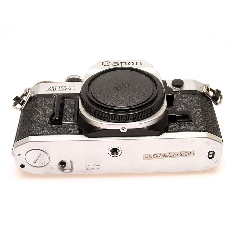 Canon AE1 Chrome Body Only Thumbnail Image 2