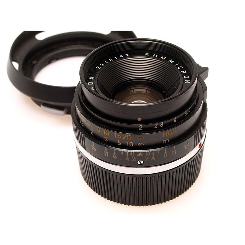 Leica 35mm F2 Black Thumbnail Image 0