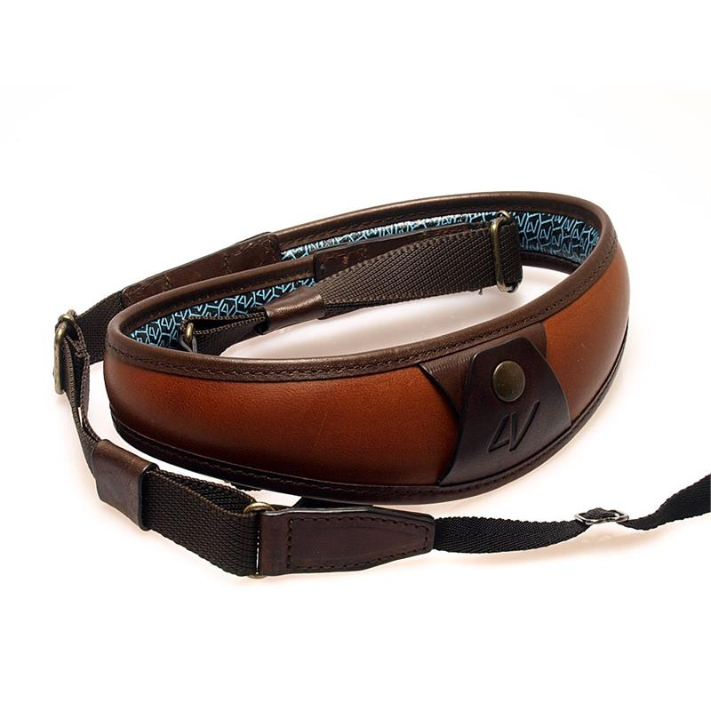 LV Brown Leather Strap Image 1